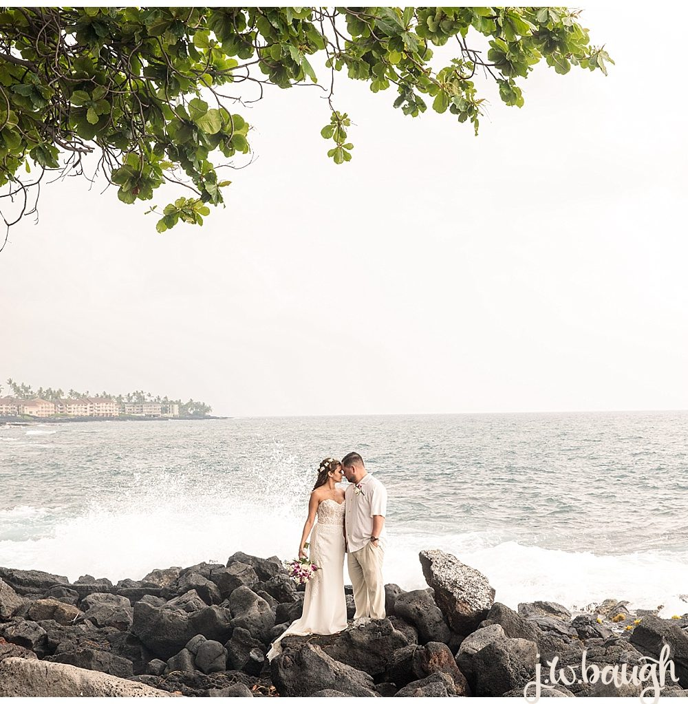 Hawaii Destination Wedding: Ted + Holly