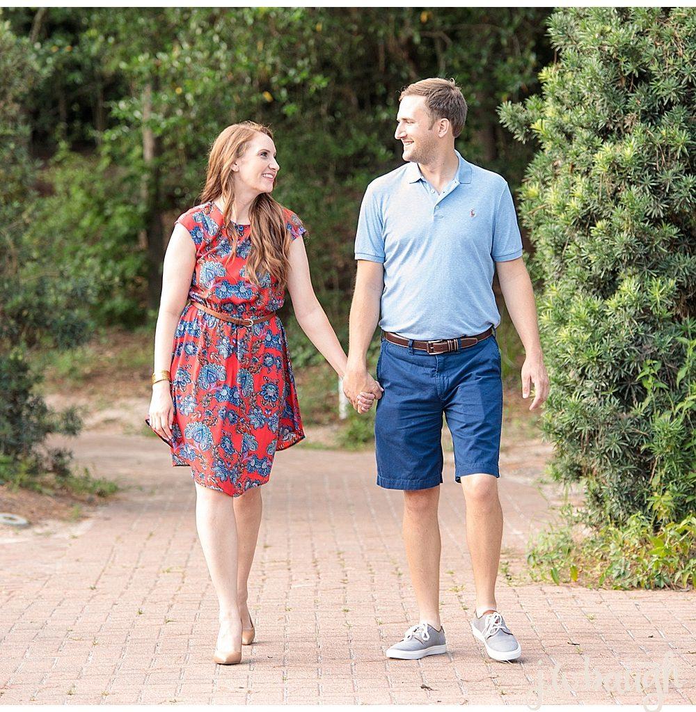 The Woodlands Engagement Session: Christopher + Jennifer