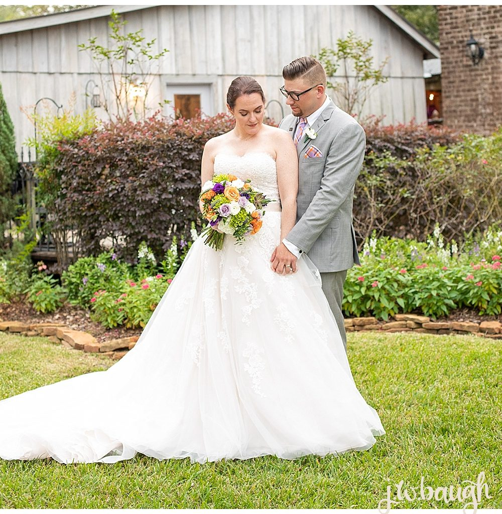 Butler's Courtyard Wedding: Dustin + Danielle