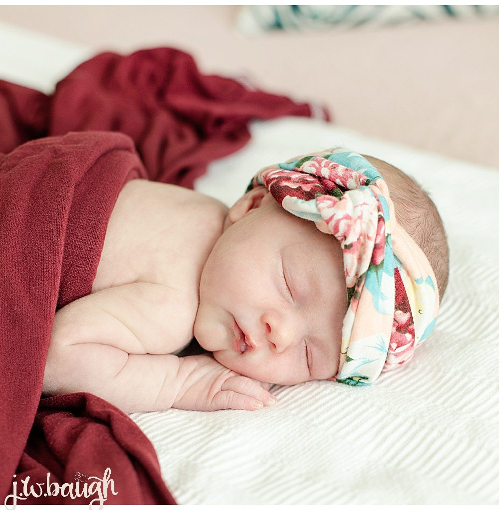 The Woodlands Newborn Lifestyle Session: Baby R